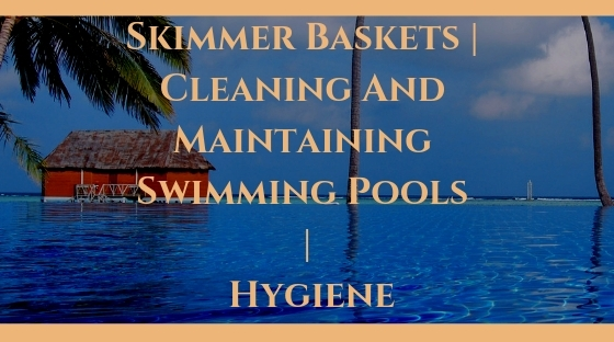 Skimmer Baskets _ Cleaning And Maintaining Swimming Pools _ Hygiene Blog Post Banner Image