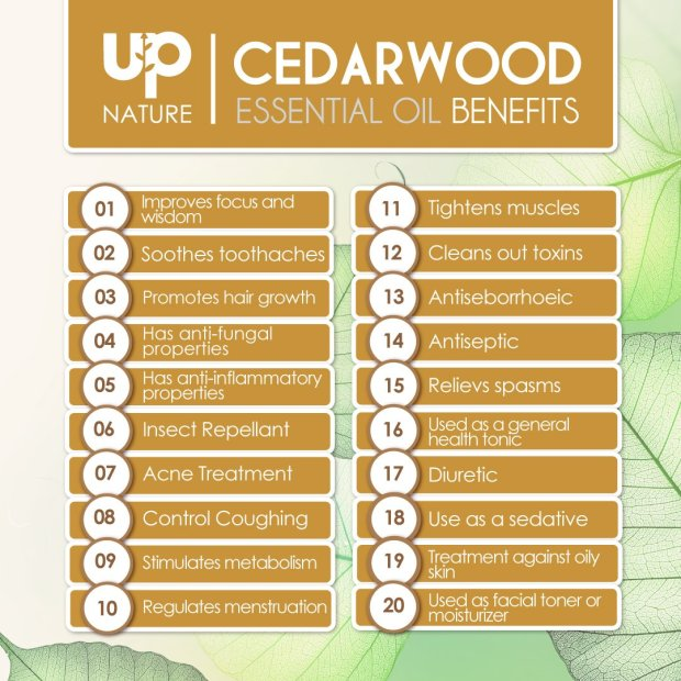 Cedar wood Essential Oil 4 OZ - For Hair Growth, Healthy Skin, Closets, Insects and Relaxing Sleep - 100% Pure & Natural Cedar Wood, Undiluted & Unfiltered 5
