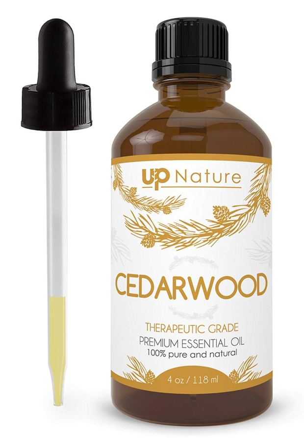 Cedar Wood Essential Oil 4 OZ - For Hair Growth, Healthy Skin, Closets, Insects and Relaxing Sleep - 100% Pure & Natural Cedar Wood, Undiluted & Unfiltered