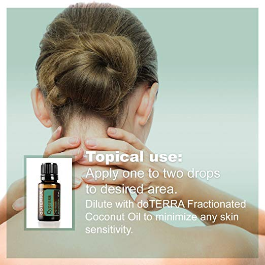 Cypress Essential Oil - Promotes Vitality and Energy, Helps Improve the Appearance of Oily Skin 3