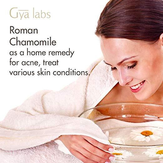 Roman Chamomile Essential Oil - 100% Pure Therapeutic Grade for Hair, Face, Skin, Eczema, Sleep, Bath Relaxation, Diffuser 4