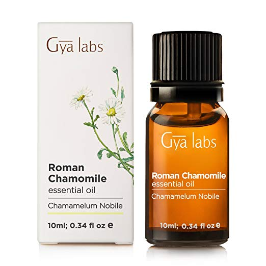 Roman Chamomile Essential Oil - 100% Pure Therapeutic Grade for Hair, Face, Skin, Eczema, Sleep, Bath Relaxation, Diffuser