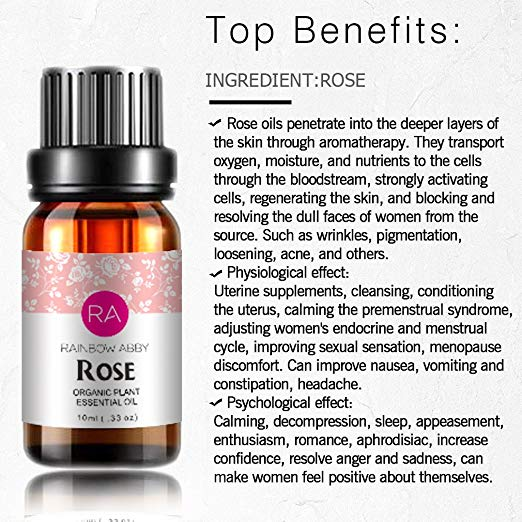 Rose - 100% Pure, Best Therapeutic Grade Essential Oil - 10 ml 5