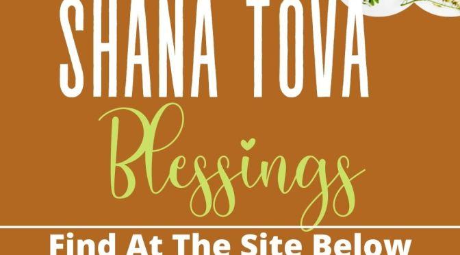 Shana Tova Blessings - Jewish Shalom Card
