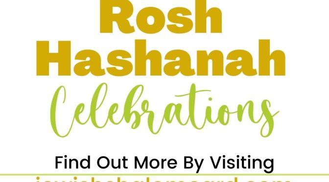 Rosh Hashanah Celebrations - Jewish Shalom Card