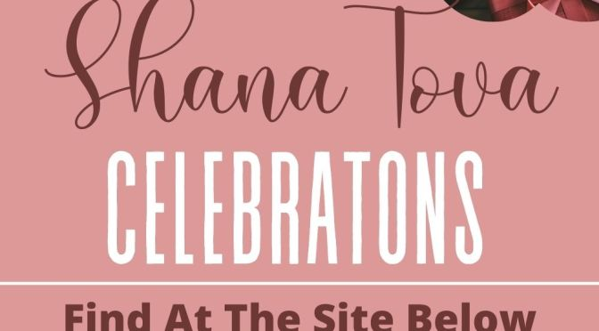 Shana Tova Celebrations - Jewish Shalom Card